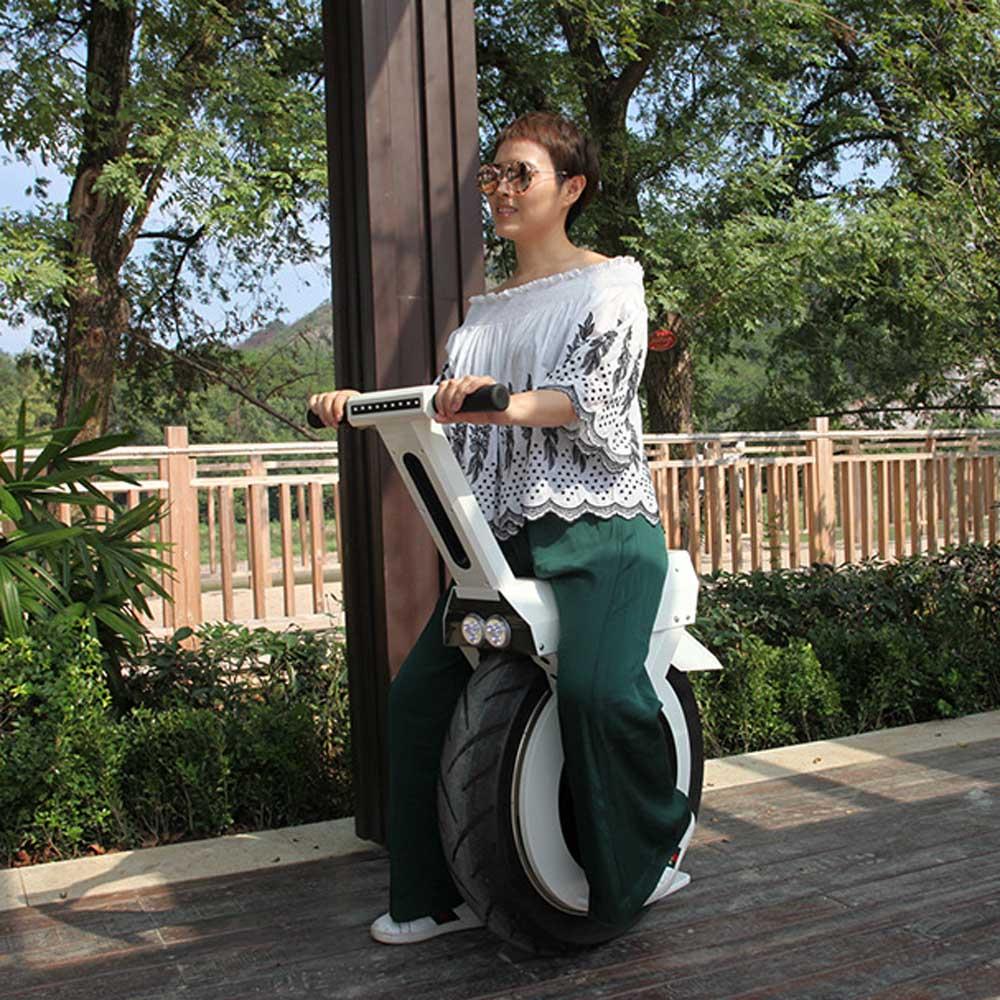 60 V puissant patinete eletrico CE 500 w moteur sans brosse une roue intelligente monocycle giroskuter hover board scooter électrique un siège