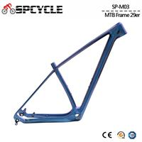 Spcycle 2019 New UD Chameleon 29er Carbon MTB Bicycle Frame 27.5er Mountain Bike Carbon Frame BSA 73mm Glossy 15/17/19inch