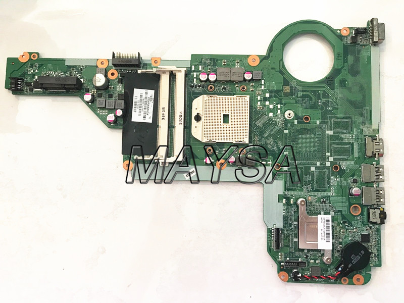 Laptop Motherboard 720691-501 720691-001 Fit For HP PAVILION 17-E 15-E Series NOTEBOOK PC Mainboard DA0R75MB6C1 DA0R75MB6C0 720578 501 720578 001 for hp envy touchsmart 15 15 j laptop motherboard 6050a2555101 mb a02 radeon hd8550 notebook mainboard