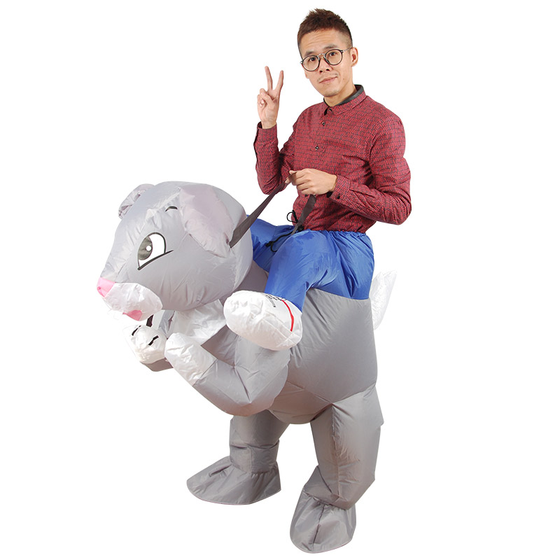 inflatable rabbit costume for adult, party costume, carnival suit, festival cloth