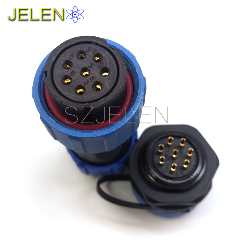 SP2110/S-SY2112/P, Waterproof Connector, Automation equipment power connector, Robot connector, electric car 8 pin plug socket штампованный диск тзск ваз 2112 5 5x14 4x98 d58 6 et35 s