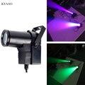 LED 10 W spot ışık RGBW renkli Pinspot ışık 90-240 V DMX512 ışın ışık dj disko sahne aydınlatma