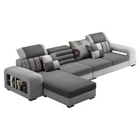 Modern Design Sofa Set Frame Sofa Combination Living Room Home Furniture Sectional Couch Recliner Couch 883