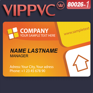 a80026-1business cards free Template for Design and white PVC card printing