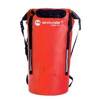 40L PVC Waterproof Swimming Rafting Dry Backpck Bag For Water Proof Ocean Impermeable Swim Pack Backpack Bag Rucksack