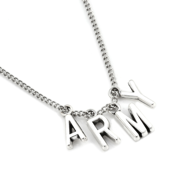 ARMY A.R.M.Y Pendant Necklace