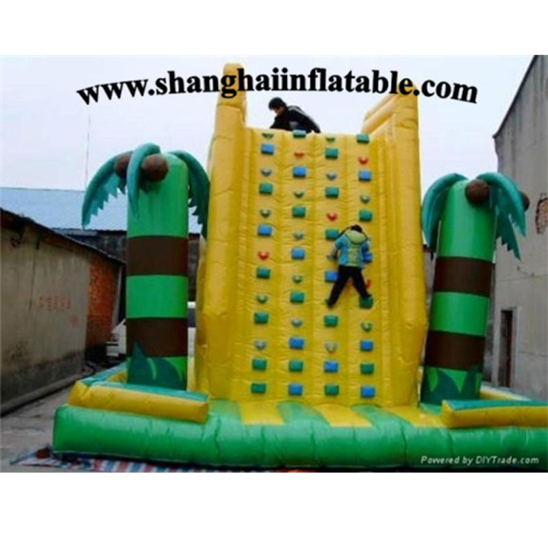 New design inflatable climbing mountain inflatable climbing wall good price for sale