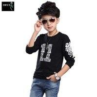 2016 Latest Version Spring Autumn Boys Cotton Long Sleeved T Shirt Baby Kids Fashion Children S