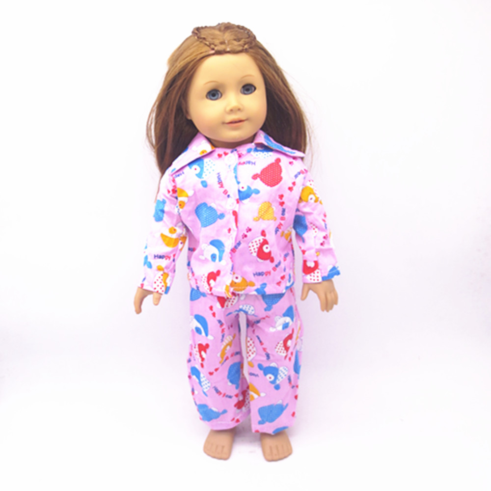 Free Delivery Hot 2016 new style popular 18 American girl doll clothes children s toys and
