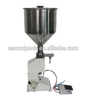 Точно небольшой объем 5 50 мл A02 руководство кремовой начинкой машина