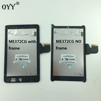 LCD Display Panel Screen Monitor Touch Screen Digitizer Glass Assembly For Asus Fonepad 7 LTE ME372CG