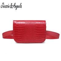 Jiessie Angela New Fashion Leather Waist Bag Phone Belt Bags Waist Lady S Pouch Belt Waist