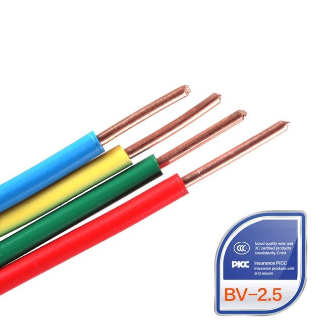 Hohe Qualität ZR BV 2.5mm Platz einzigen harten Draht Heimwerker ...