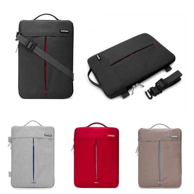 a754247d525a US $17.99 10% OFF|Waterproof Notebook Laptop Shoulder Carry Bag Case For  Apple MacBook Air Pro MAC 11.6 12 13.3 15.4 17