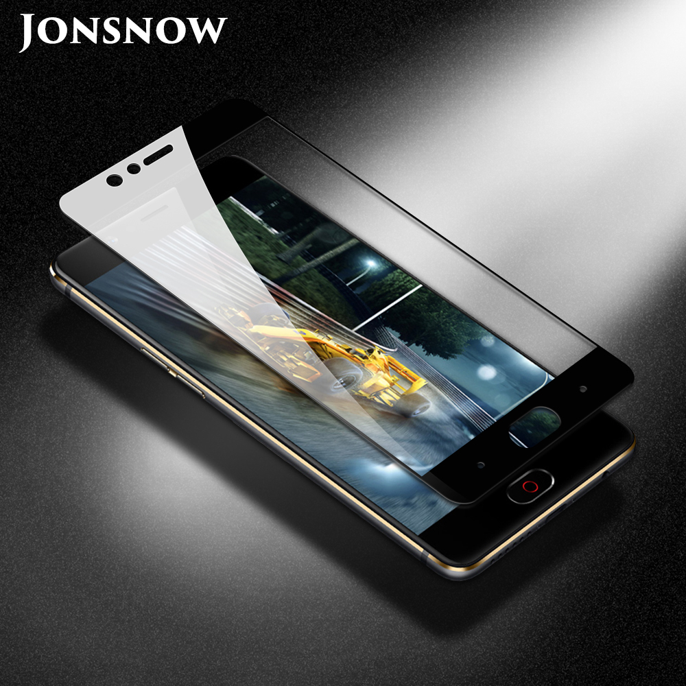 JONSNOW Full Coverage Tempered Glass for ZTE Nubia Z17 Lite 5.5 inch Protective Film for ZTE Nubia M2 Lite Screen Protector(China)