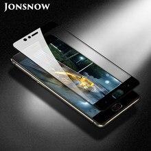 JONSNOW полное покрытие закаленное стекло для ZTE Nubia Z17 Lite 5,5 дюймовая Защитная пленка для ZTE Nubia M2 Lite защита экрана