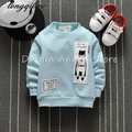 Top quality 2017 Baby Sweatshirt Kids Clothes Cartoon printing Warm Pullover Thick Velvet Baby Boy Girls Clothes Sweatshirt