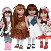 Lalka Ubrania (Nie Zawierają lalkę) pasuje do 18