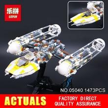 LEPIN 05040 1473 Pcs Star War Y-Attaque aile Starfighter Modèle Kits de Construction Blocs Briques Garçon Jouets Compatible 10134