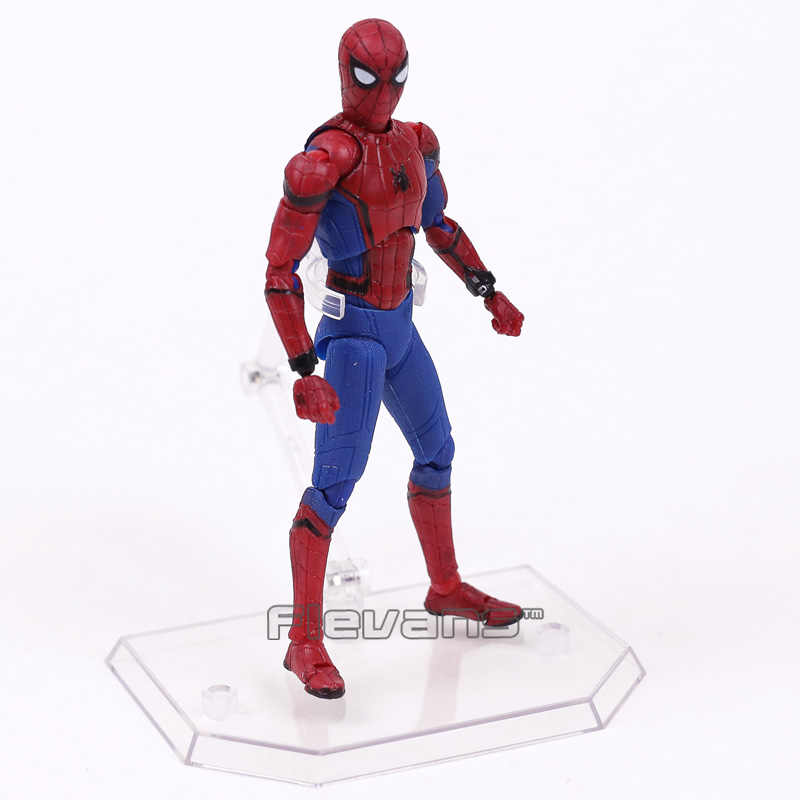 SHF Spider Man Homecoming Spiderman PVC Action Figure Collectible Model Toy 14cm