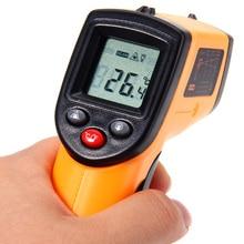 Nueva Digital Profesional Tester de Temperatura Sin contacto Termómetro Infrarrojo IR Temperatura Pistola Láser Dispositivo de Rango-50 a 380C