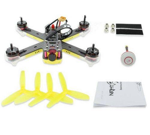 Emax Nighthawk Pro 200 200mm F3 FPV Racing Drone PNP with 5.8G 48CH 25-200mW VTX 600TVL CCD Camera
