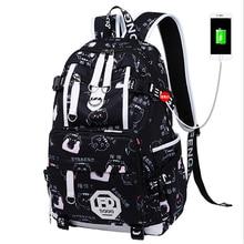 Модный водонепроницаемый нейлоновый женский рюкзак унисекс, дизайнерский школьный ранец для ноутбука с защитой от кражи для девочек подростков