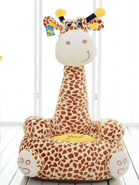 Animal Children Lazy Sofa Seat Backrest Plush. Large Tatami