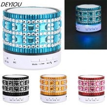 DEYIOU New Arrivals Portable Mini Wireless Stereo Bluetooth Speaker For iPhone Tablet PC FM Free Shipping NOM08