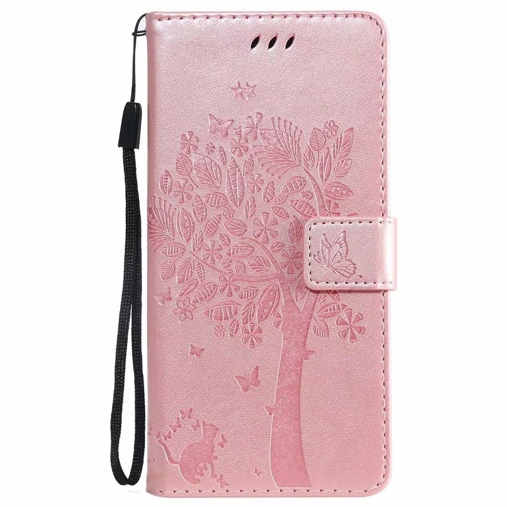 Smart Phone Flip case for Huawei P20 lite P10 P10 lite P10 Plus Protective Cover Leather Wallet Phone Case With Strap in Flip Cases from Cellphones Telecommunications