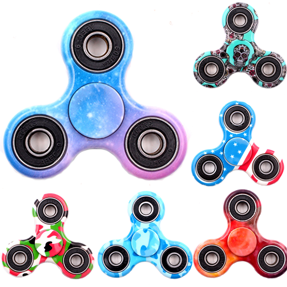 2017 New Hand Spinner Toy For Autism And Antistress Fidget Spinner Anti-Stress 16 Kinds Of Color Spiner,HandSpinner