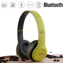 f0db38d8011d43 KINCO Foldable Wireless Bluetooth 4.2 Stereo Sports Headphones Headset  Earphones FM Radio for Music Play Calls