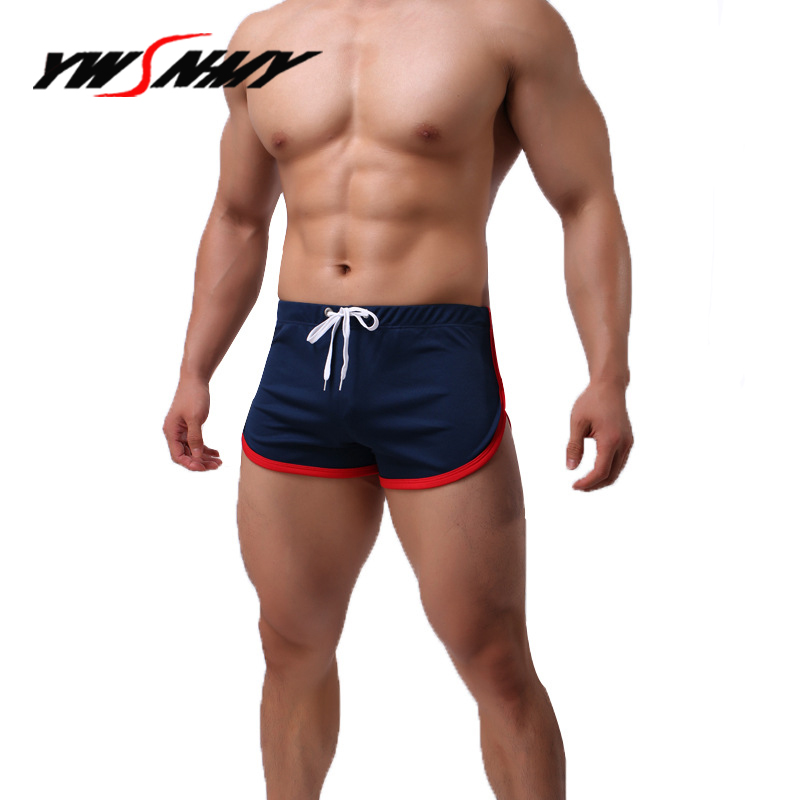Breathable Sleep Bottoms Underwear Men Boxer Shorts Panties Masculino Sexy Comfortable Hombre Sleep Lounge Pajama Bottoms