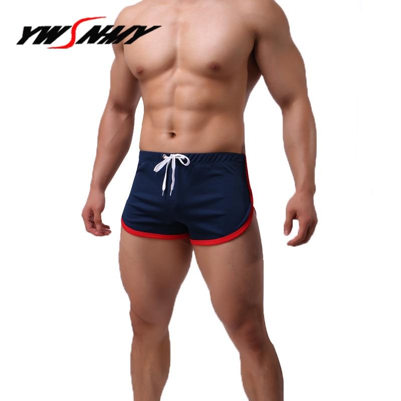 Breathable Sleep Bottoms Underwear Men Boxer Shorts Panties Masculino Sexy Comfortable Hombre Sleep Lounge Pajama Bottoms