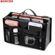 RUPUTIN Hot Cosmetic Bag Package Inside The Lady Makeup Purse Handbag Organizer High Capacity Women Liner Cases