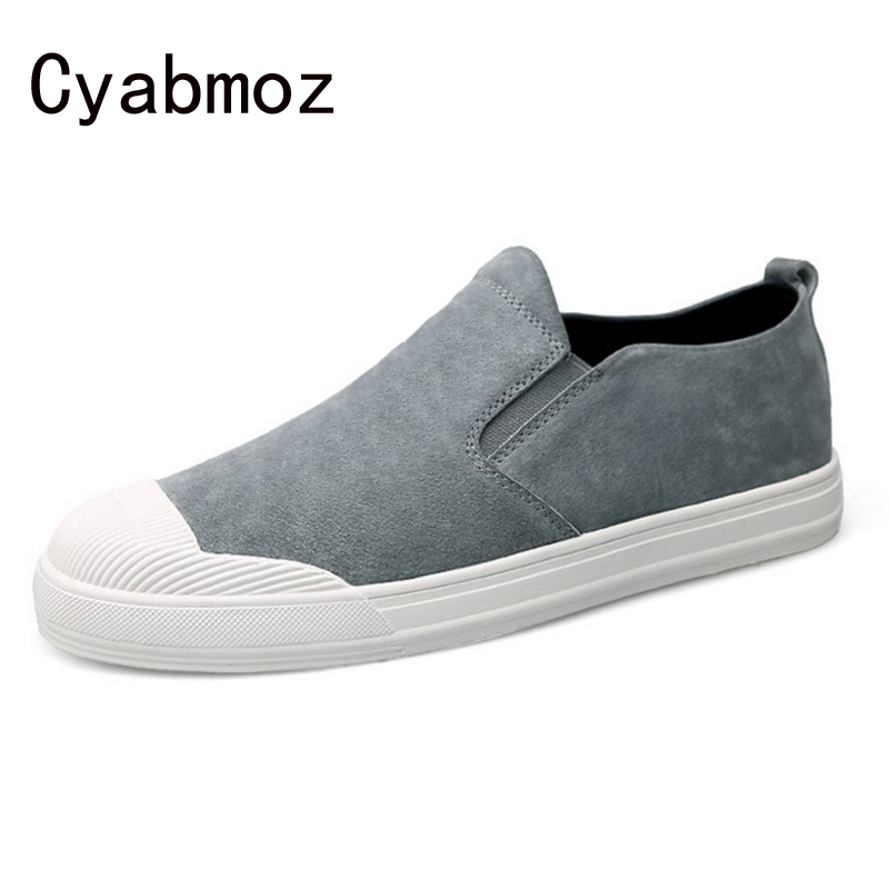 2017 New Suede Leather Men Flats Moccasins Slip-on Loafers Comfortable Driving Casual Shoes Leisure Fashion Concise Flat Shoes hot high quality men loafers leather round toe slip on casual shoes man flats driving shoes hombre zapatos comfortable moccasins