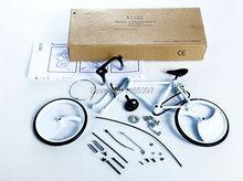 Teenage children kids scientific science educational models experimental toy materials assembling bicycle die cast 1:10