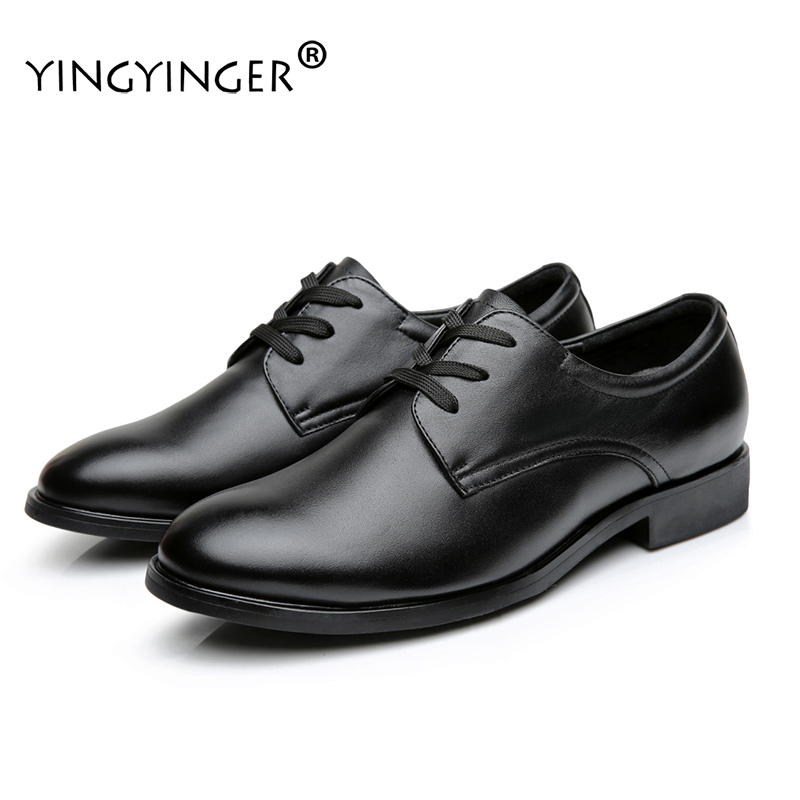 Men's Lace-Up Solid Genuine Leather Casamento Wedding Dress Oxfords Formal Shoes Men Sapato Masculino Chaussure Homme ayakkabi men party shoes oxfords 2015 hot men s genuine leather shoes brand sapato masculino couro social round toe palladium shoes 38 46