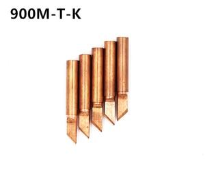 Image 2 - SZBFT 5piece 900M T K Lead free Red copper Pure cupper Solder tip  For Hakko 936 FX 888D Saike 909D 852D+ 952D Diamagnetic DIY