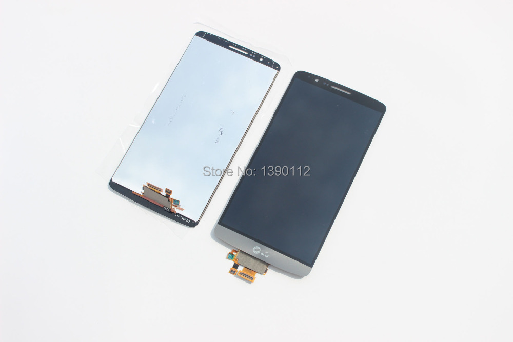 LCD +Touch Screen Digitizer for LG G3 D850 D851 D855 VS985 grey