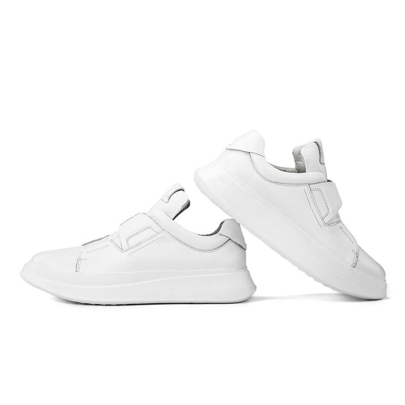 Zapatos Skate Moda 36 45 Transpirable Hombres Zapatillas Los La Encaje Deporte Cuero Italia Diseñador blanco Casuales Tamaño Negro Genuino De wRxY1gq0