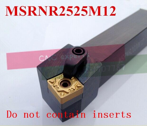 MSRNR2525M12 25*25*150MM,Metal Lathe Cutting Tools Lathe Machine CNC Turning Tools External Turning Tool Holder M-Type MSRNR/L