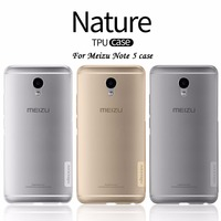 For Meizu Note 5 Cover Nillkin Nature Transparent Clear Soft Thin Silicon TPU Protector Case 5