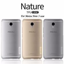 NILLKIN meizu m5 note чехол Мягкий силиконовый чехол TPU meizu note 5 meizu note 5 (5.5 дюймов) телефон сумки