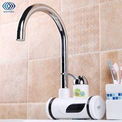 220V 3000W 360 giratorio eléctrico cocina calentador de agua grifo de agua caliente instantáneo calentador de agua calefacción en frío pantalla Digital Baño grifo