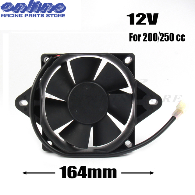 12 Volt Oil Cooler New Electric Radiator Cooling Fan For 200cc 250 Cc Chinese Atv Quad Go Kart Buggy Motorcycle