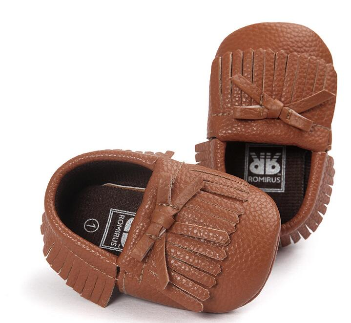Fashion ROMIRUS First Walkers toddler baby moccasins Soft sole Tassels infant girls shoes Newborn Prewalkers shoes