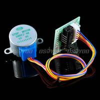 motor drive 2pcs 5V Stepper Motor 28BYJ-48 With Drive Test Module Board ULN2003 5 Line 4 Phase Free Shipping & Drop Shipping (4)