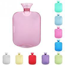 31*20 см Толстая бутылка для воды прозрачная 2000 мл бутылка для горячей воды высокая плотность ПВХ взрывозащищенный