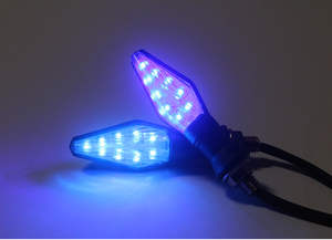 Image 5 - 2 pièces 12 LED Moto clignotant lumières Moto Signal lampe pour Yamaha FJ 09/MT09 traceur MT10 MT03 YZF R25 YZF R3 FZ1 FAZER Fazer